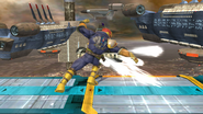Ataque normal de Captain Falcon (4) SSB4 (Wii U)
