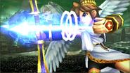 Créditos Modo Senda del guerrero Pit SSB4 (3DS)