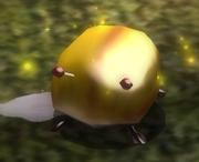Escarabajo de oro iridiscente en Pikmin 2