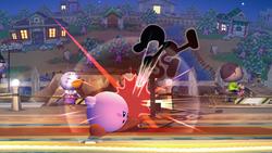 Mr Game y Watch Ataque Aereo Inferior-SSBB