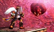 Pit y Donkey Kong en el Bosque Génesis SSB4 (3DS)