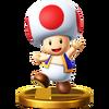 Trofeo de Toad SSB4 (Wii U)