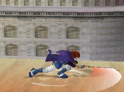 Ataque Smash hacia abajo de Roy (2) SSBM