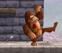 Ataque rápido de Donkey Kong SSB