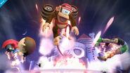Barriles retropropulsados SSB4 (Wii U)