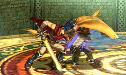 Golpiza Ike SSB4 (3DS)