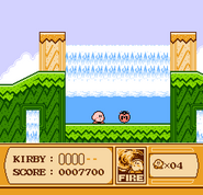 Maxi tomate en Kirby's Adventure