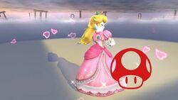 Pose de victoria (3) Peach SSB4 Wii U