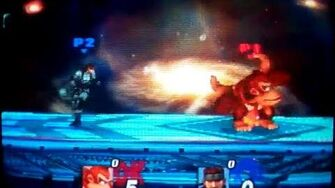 SSBB - Glitch del agarre de Donkey Kong