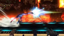 Ataque Smash lateral de Samus Zero (2) SSB4 (Wii U)