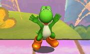 Burla inferior Yoshi SSB4 (3DS)
