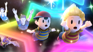 Créditos Modo Leyendas de la lucha Lucas SSB4 (Wii U)