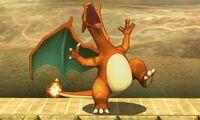 Pose de espera de Charizard (1) SSB4 (3DS)