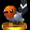 Trofeo de Fletchling SSB4 (3DS)
