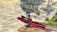 Ataque de Recuperación Desde el Borde Bayonetta SSB Wii U