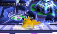 Ataque fuerte inferior Pikachu SSB4 (3DS)