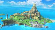 Isla Wuhu SSB4 (Wii U)