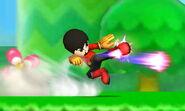Karateka Mii Patadas destructoras SSB4 (3DS) (1)