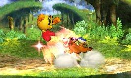 Lanzamiento trasero del Dúo Duck Hunt SSB4 (3DS)