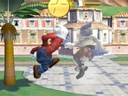 Súper Salto Puñetazo Mario SSBB