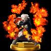 Trofeo de Daraen (chica) SSB4 (Wii U)