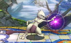 Agarre corriendo Mewtwo SSB4 (3DS)
