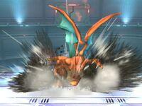 Ataque Smash inferior Charizard SSBB
