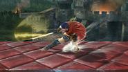 Ataque Smash inferior de Ike (2) SSB4 (Wii U)