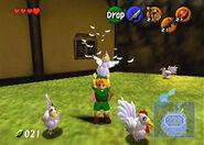 Cuco en The Legend of Zelda Ocarina of Time