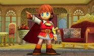 El Principe de Sable en Tomodachi Life SSB4 (3DS)