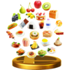 Trofeo de Comida SSB4 (Wii U)