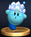 Trofeo de Kirby Hielo SSBB