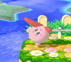 Ataque de recuperación desde el borde -100% de Kirby (1) SSBM