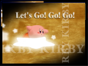 Créditos 1P Game Kirby SSB