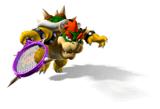 Pegatina de Bowser Mario Power Tennis SSBB
