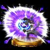 Trofeo de Lucario (alt.) SSB4 (Wii U)