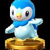 Trofeo de Piplup SSB4 (Wii U)