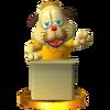Trofeo de Rusty Slugger SSB4 (3DS)