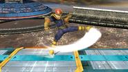 Ataque fuerte lateral de Captain Falcon SSB4 (Wii U)
