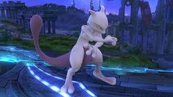 Burla lateral Mewtwo (1) SSB4 (Wii U)