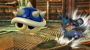 Caparazon Azul en SSB4 (Wii U)