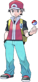 Entrenador Pokémon RojoFuego y VerdeHoja