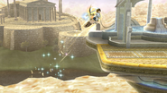 Pit volando SSB4 (Wii U)