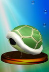 Trofeo Caparazón verde SSBM