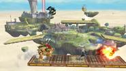 Aliento de fuego personalizado SSB4 (Wii U)