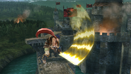 Ataque aéreo delantero de Ike (2) SSB4 (Wii U)