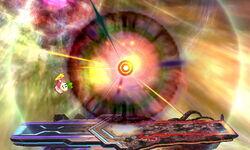 Ataque final de la última forma de Master Core (1) SSB4 (3DS)