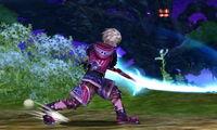 Ataque fuerte lateral Shulk SSB4 (3DS)