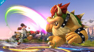 Ataques Smash laterales de Fox y Bowser SSB4 (Wii U)