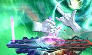Crazy Hand Barras de energía (2) SSB4 (3DS)